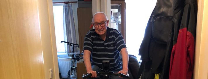Great Grandad Gets on His Bike to Raise Money for NHS Lothian