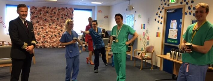 NHS Lothian staff are the first in Scotland to receive the first-class treatment as part of Project Wingman