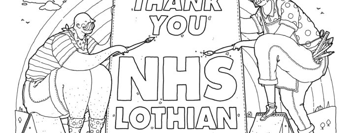 Download and Send us your Thank You NHS Lothian Picture