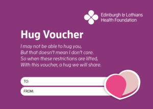 Hug Voucher image. Click to download and send