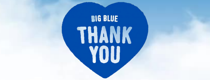 Fundraising Event: Big Blue Thank You