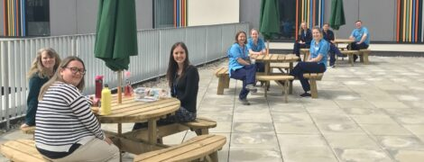 Edinburgh and Lothians Health Foundation Supports Outdoor Wellbeing Space for Staff at East Lothian Community Hospital