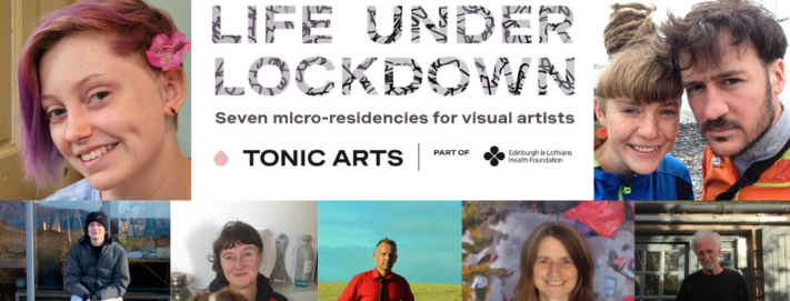 Edinburgh and Lothians Health Foundation announces successful artists for their 'Life Under Lockdown' Residencies