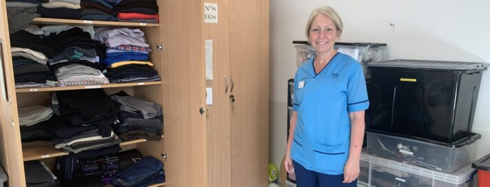 Case Study: Supporting patients who don't have access to clothing or toiletries
