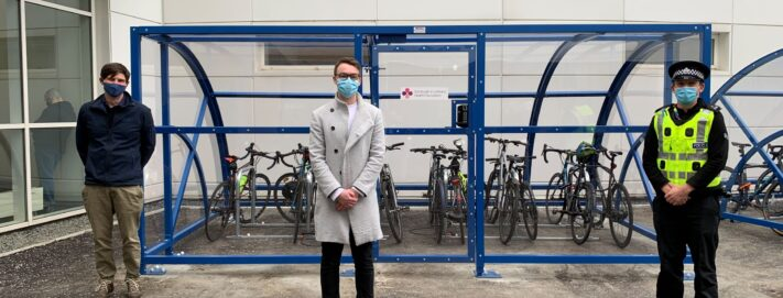 £90K match funding awarded to improve bike storage facilities at the Royal Infirmary