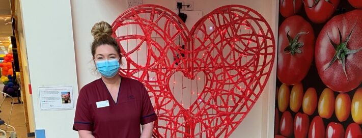 Royal Infirmary of Edinburgh shares some love this Valentine's Day with a 'big-hearted' thanks from Blachere Illumination UK