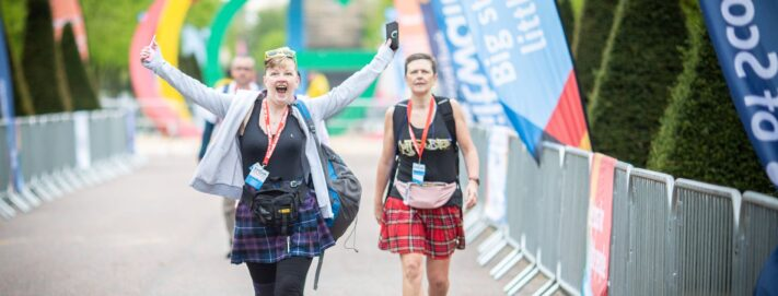 Sign up for the Kiltwalk LIVE and walk for a hospital, walk for wards or walk for hope.